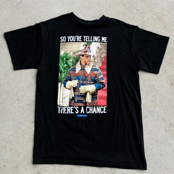 Dumb & Dumber Lloyd Christmas T-Shirt Movie Promo
